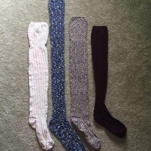 American Eagle Knee Sock four pack